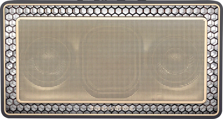 Bowers & Wilkins T7 Bluetooth Lautsprecher (24W Nennleistung, 2.0 Stereo, 18 Std. Akkulaufzeit, Bluetooth aptX)