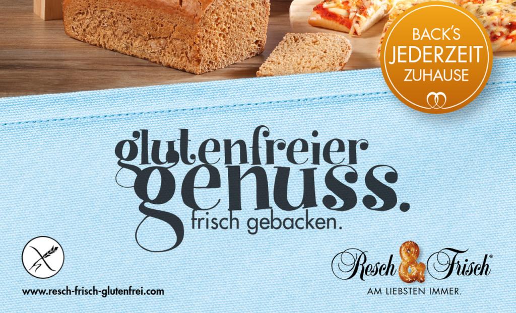 [glutenfrei] Resch & Frisch - Diverse Gutscheine und Aktionen