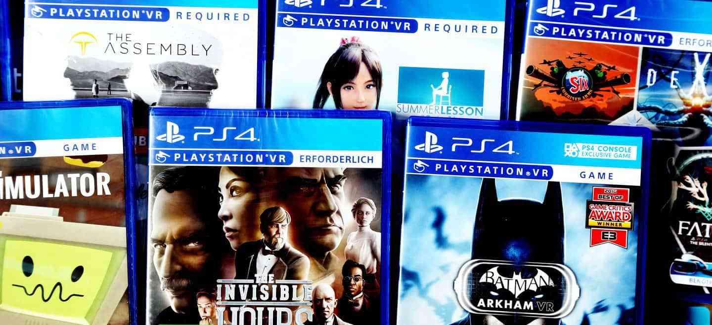 [PS4/PSVR] Diverse PlayStation VR-Spiele ab 9,99 € (Kreditkarte erforderlich)
