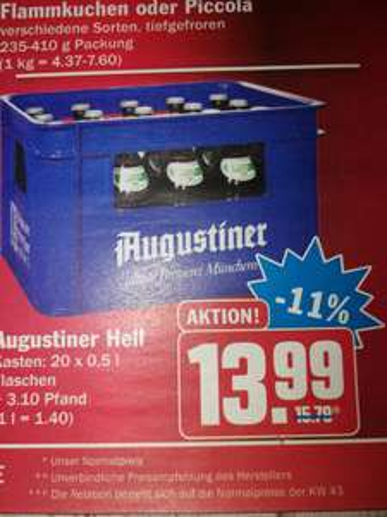 [Lokal] Hit München - Kasten Augustiner (zzgl. 3,10€ Pfand)
