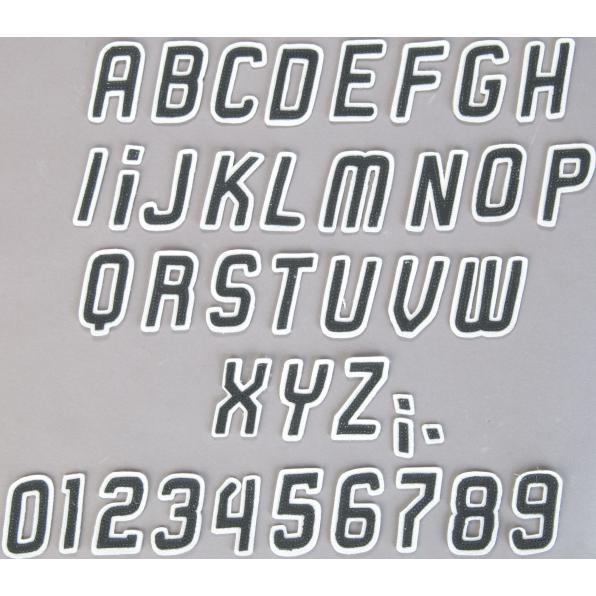 [louis] Lederbuchstaben Restposten