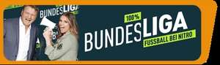 "Köln :  TV Live Sendung ""100% Bundesliga - Fussball bei Nitro - Freikarten Termine : Januar & Februar"