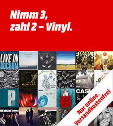 3 Vinyl kaufen, 2 zahlen versandkostenfrei (Media Markt)