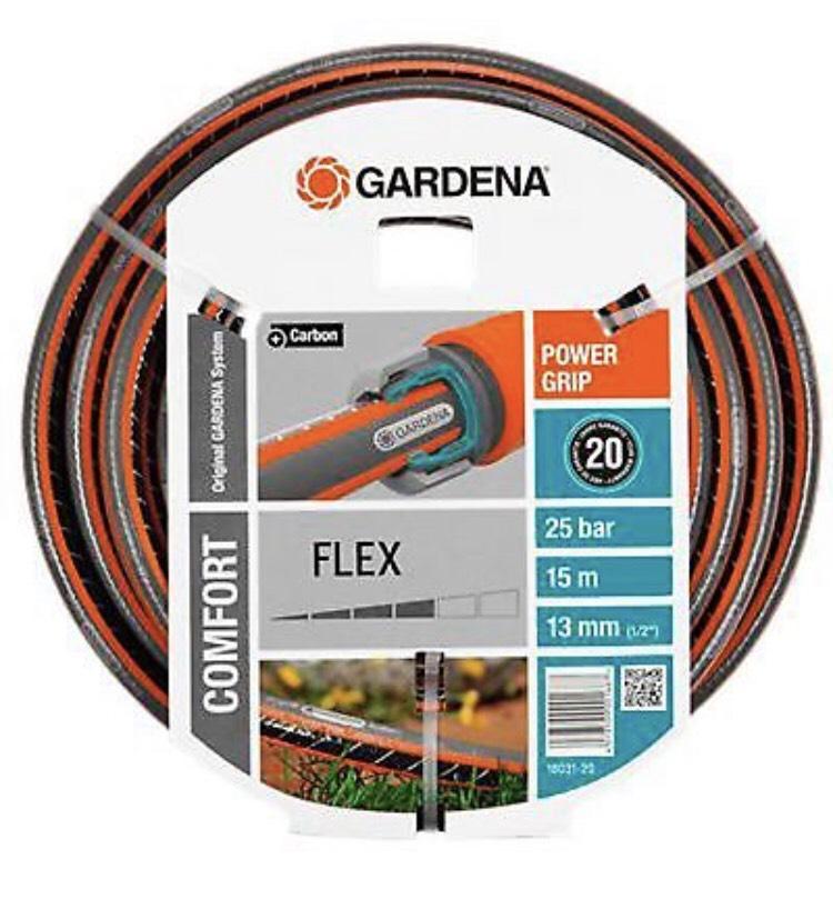 """Gardena PVC-Schlauch 15m Comfort Flex 1/2"""""""