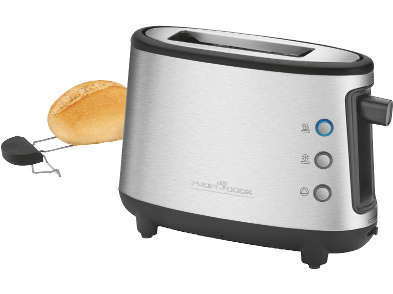 (MediaMarkt) PROFI COOK PC-TA 1122 Toaster Inox/Schwarz für 9€ inkl. Versand