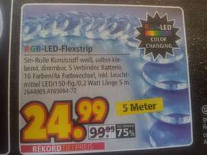 segmüller  rgb LED flex strip 5m