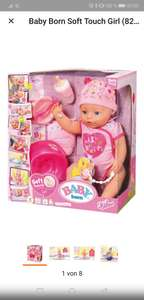 Nur Heute im Real mit Coupon Baby Born Soft Touch Girl blue Eyes  (824368)