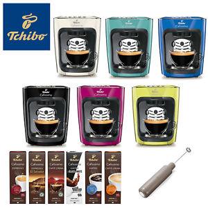@eBay: Tchibo Cafissimo mini Kapselmaschine + 60 Kapseln + Milchaufschäumer für 39 Euro