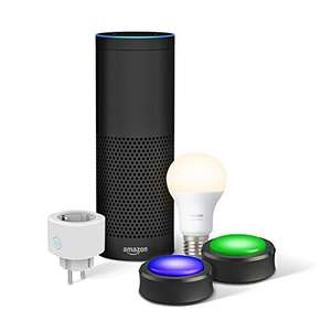 Amazon Echo Plus 1 Gen Schwarz Woox Smart Plug