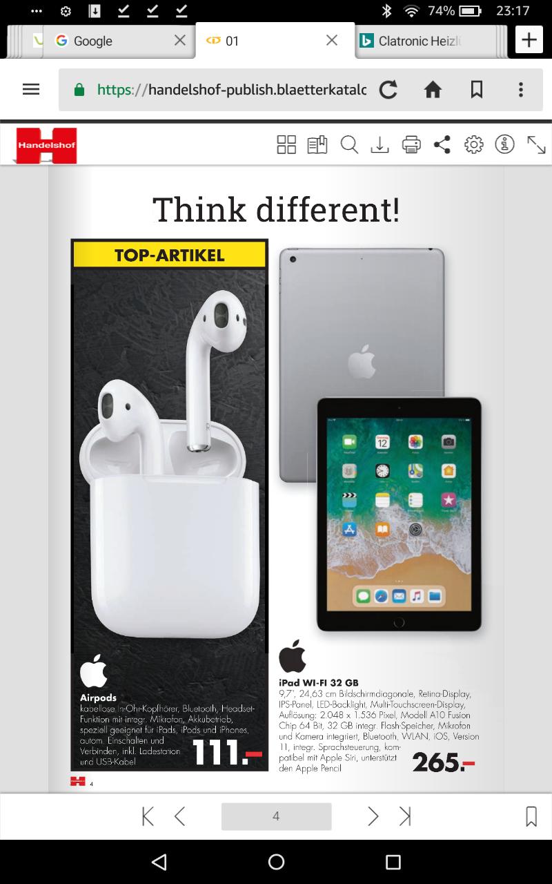 für Selbständige/Vereine im Handelshof Großhandel NRW Apple Airpods