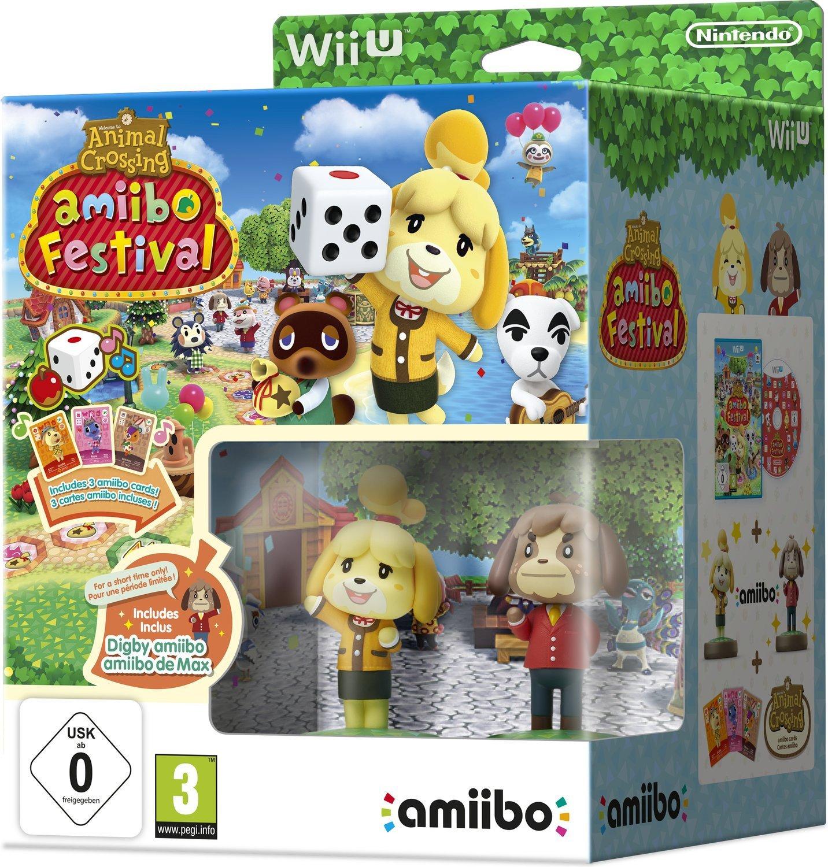 Animal Crossing: amiibo Festival + 2 amiibo-Figuren + 3 amiibo-Karten (Wii U) für 5€ (GameStop)