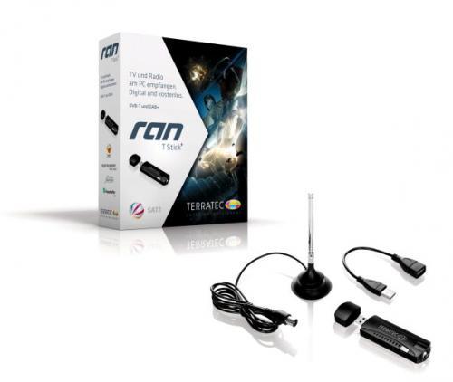 Terratec RAN-T Stick+ DVB-T DAB DAB+Stick USB 2.0