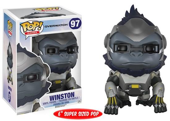 Overwatch - POP! Vinyl-Figur Winston für 5€ & Dragon Ball Z - POP! Vinyl Figur Krillin & Bluma für je 5€ (GameStop)
