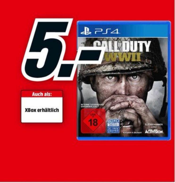 [Lokal Dortmund] Call of Duty WWII für PS4 und Xbox One für 5€ Media Markt