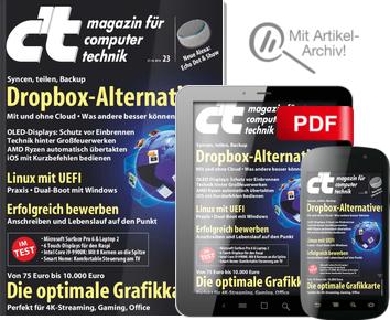 5 Ausgaben c't (Heft + digital) mit Raspberry Pi Zero WH (mit WLAN) ODER mit 10€ Amazon-Gutschein