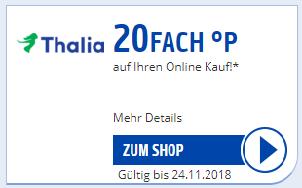 23,5% Rabatt [Thalia.de] Payback und Gutschein