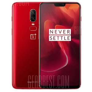 OnePlus 6 - 8GB 128GB - SD 845 - AMOLED - Smartphone - International Version - alle Farben