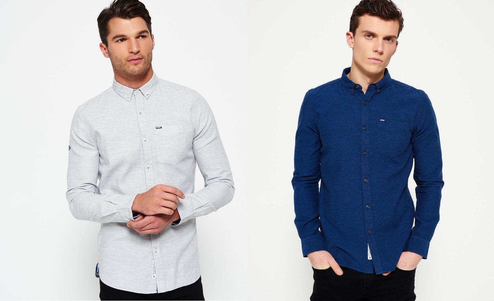Schlichte Superdry Hemden für 22,36€ bzw. Tanktops für 8,76€ mit 20 ... e2302394df