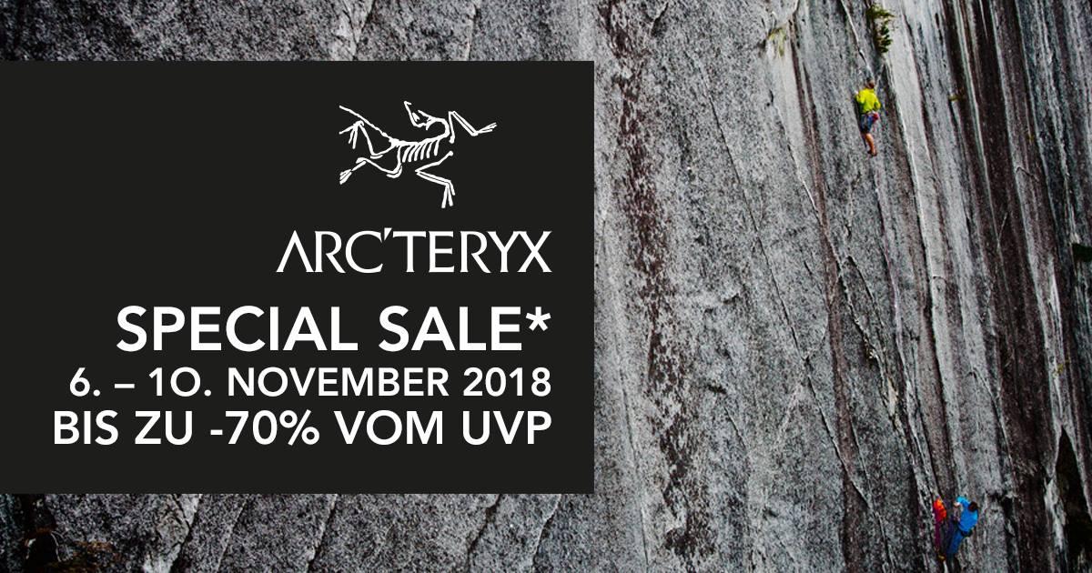 [LOKAL - Garching bei München] ARC'TERYX Special Sale mit bis zu 70%