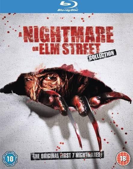 Nightmare On Elm Street 1-7 Blu-ray Box