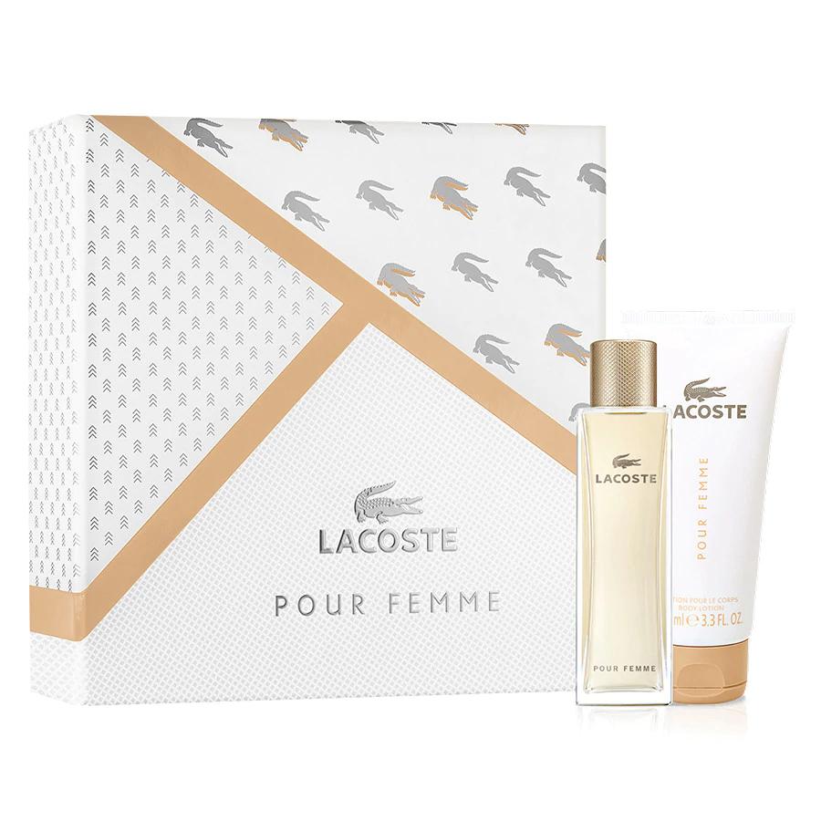 [Douglas] Lacoste Pour Femme Set (Edp 50ml + BL 100ml)