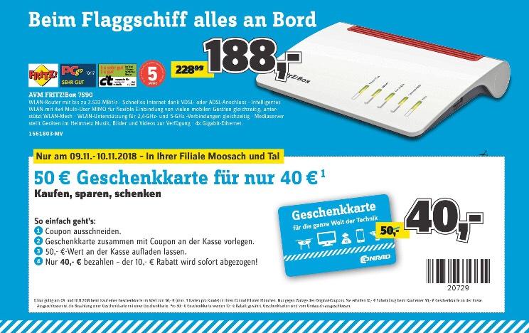 [München lokal] FRITZ!Box 7590 AVM WLAN-Router