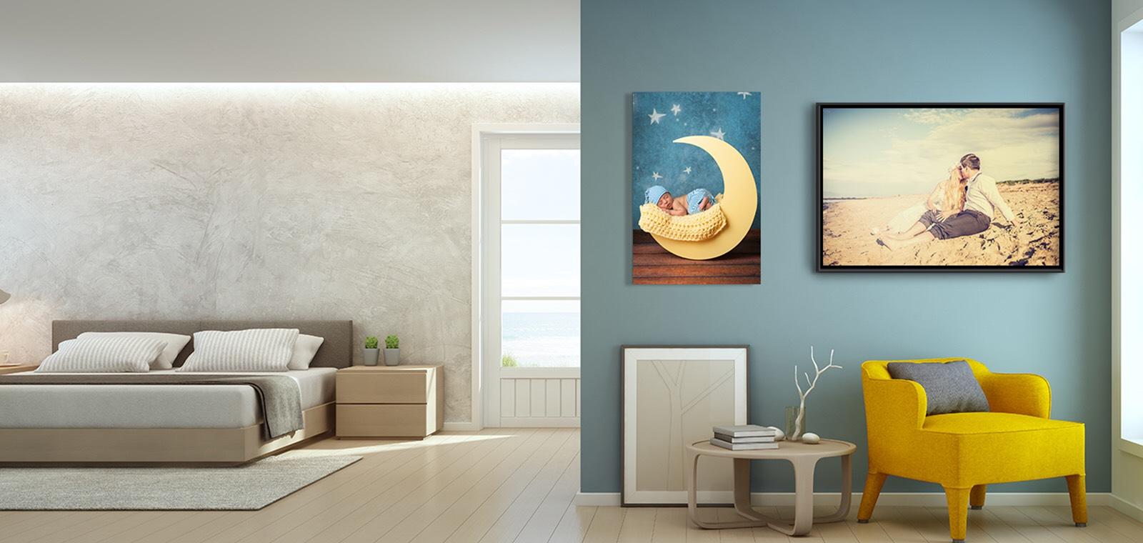Saal Digital - 30% Nachlass auf Wandbilder, Karten, Minileporellos