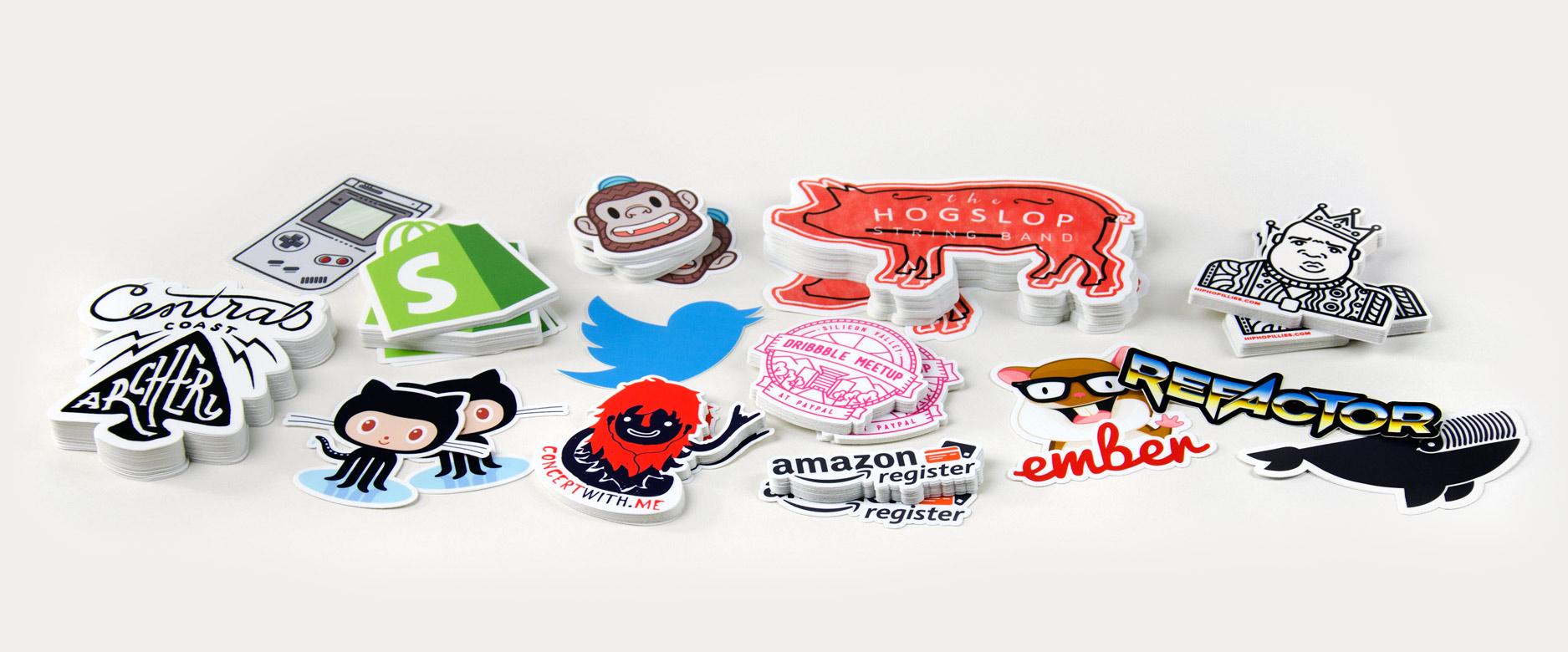 [FREEBIE] 10 Die Cut Stickers mit eigenem Design von Stickermule