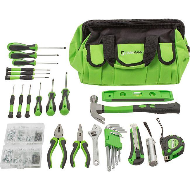 Starkmann Greenline Werkzeugtasche 756-teilig