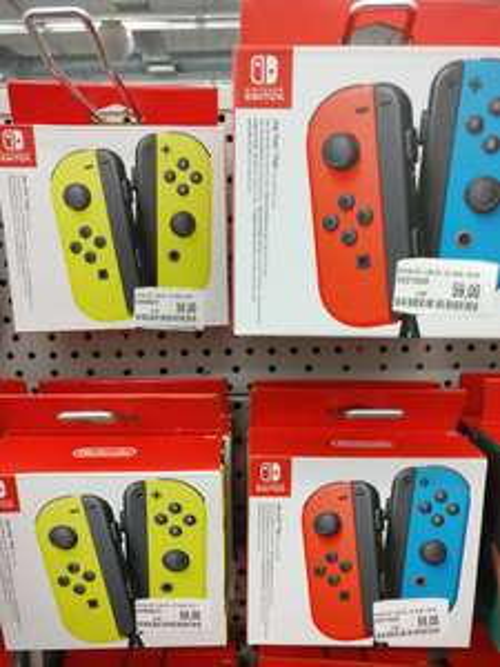[lokal Leipzig MM Brühl] Nintendo Switch Joy Cons neon gelb oder blau/rot