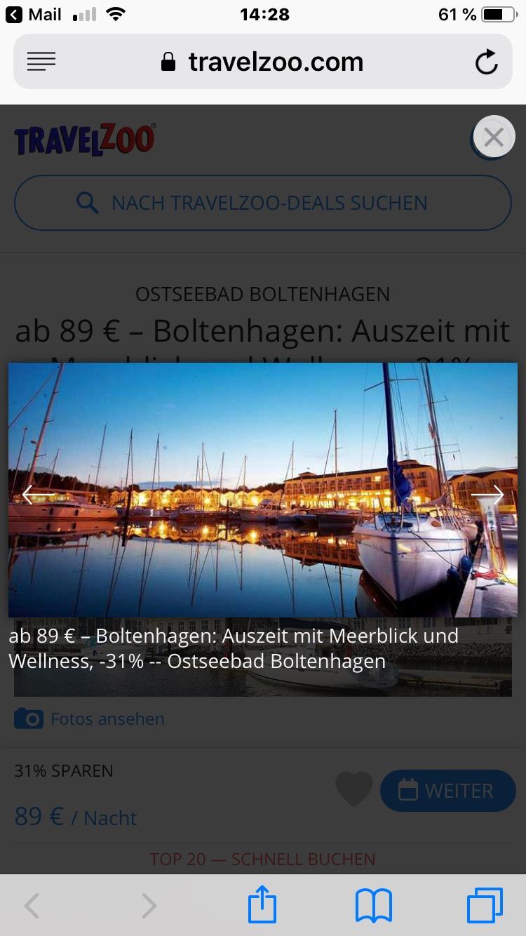 OSTSEEBAD BOLTENHAGEN ab 89 € – Boltenhagen: Auszeit mit Meerblick und Wellness Iberotel Boltenhagen bei Travelzoo