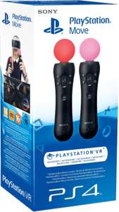 PlayStation Move Motion-Controller (Twin Pack) (PS4-VR) für 56,59€ (Amazon ES)