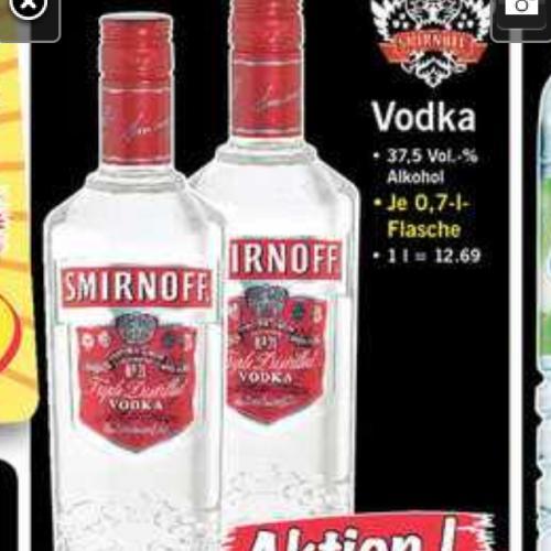 [Lidl] Smirnoff Vodka 8,88