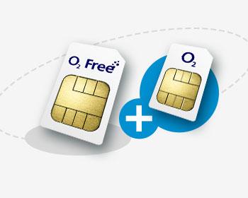 Durch O2 Connect mehrere SIM Karten mit nur einen Tarif nutzen (O2 Free), kostenfrei