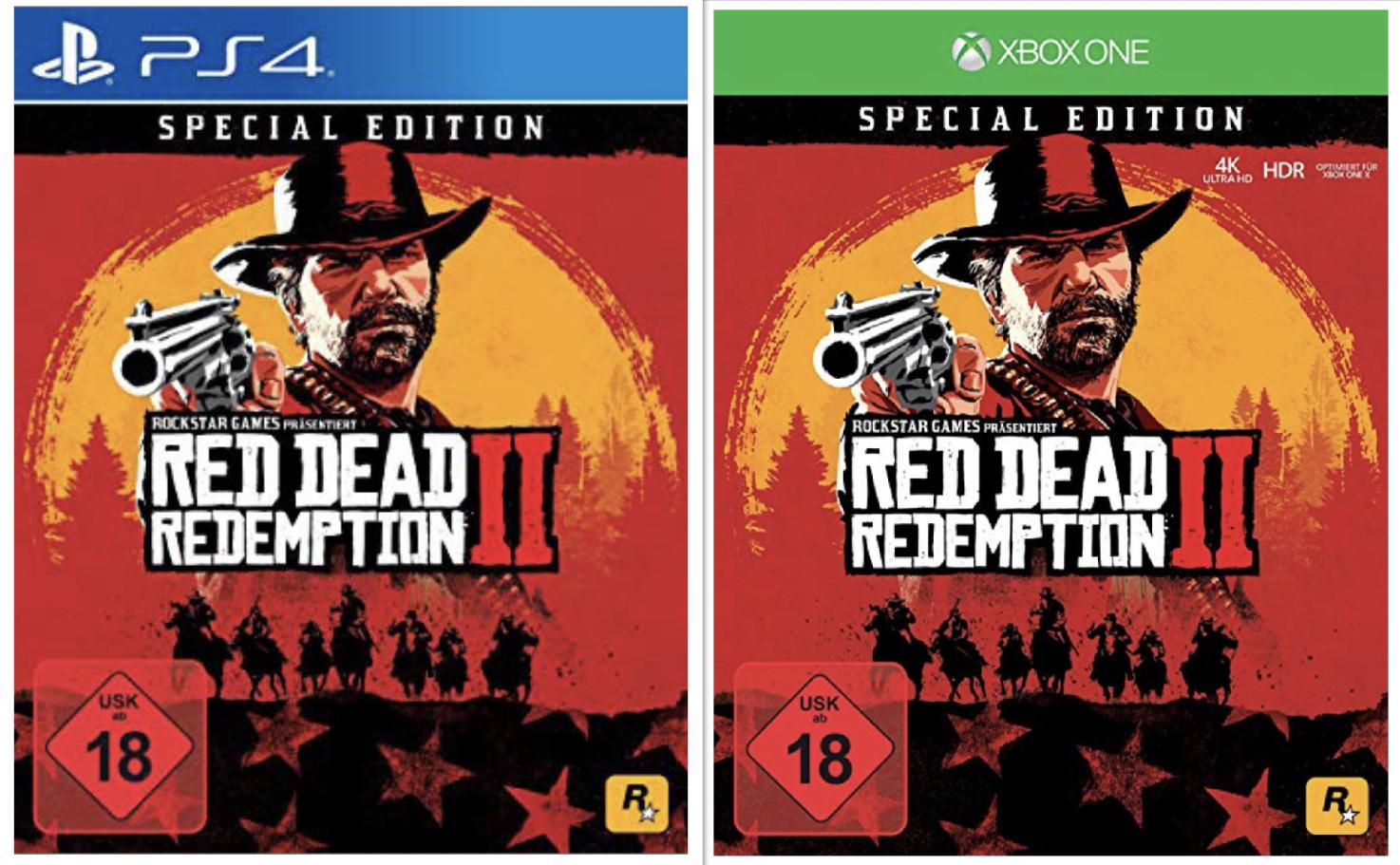 Red Dead Redemption 2 Special Edition PlayStation 4 o. Xbox One für 69,99€ inkl. Versandkosten mit Visa [Quelle]
