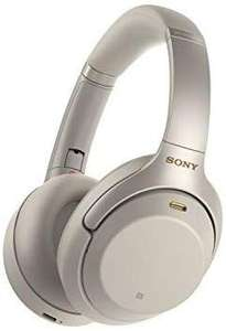 Sony WH-1000XM3 Bluetooth Noise Cancelling Kopfhörer (30h Akkulaufzeit, Touch Sensor, Headphones Connect App, Schnellladefunktion) silber