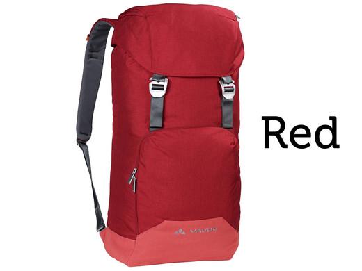 Rucksack Vaude Consort (33l, großes Hauptfach, separates Laptopfach, Fronttasche, Organizer, gepolsterter Rücken und Schultergurte)