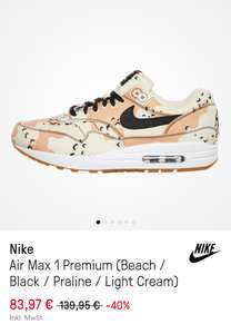 HHV (Online) Air Max 1 Beach Gr. 40 - 46
