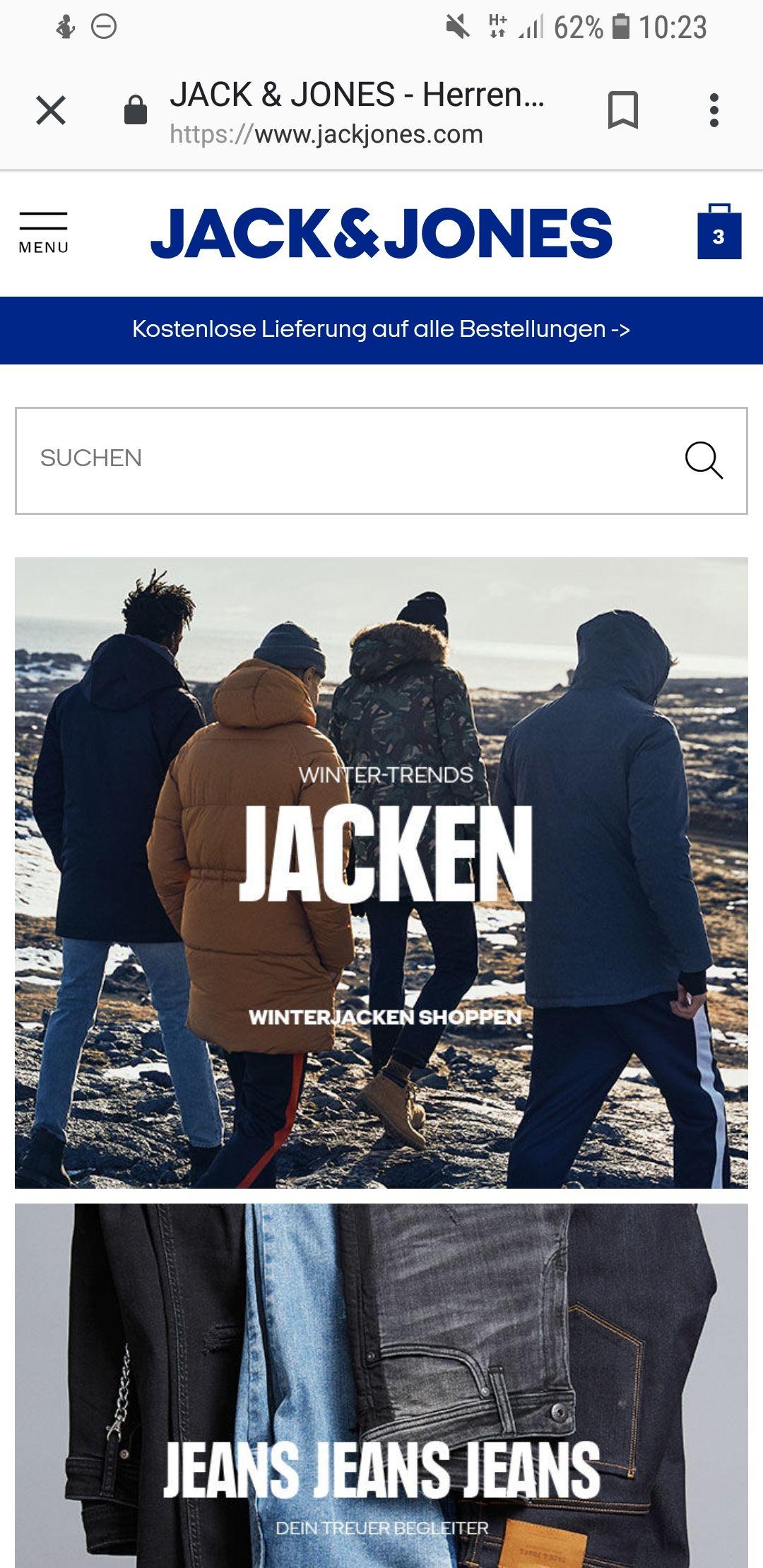 20% bei Jack & Jones online | Kein MBW