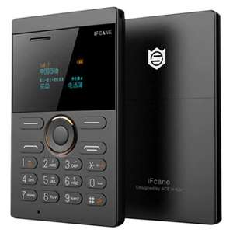 Kompakt-Handy iFcane E1 (Quadband, Bluetooth, MP3, microSD-Slot, 320 mAh-Akku)