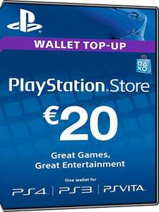 20€ PSN Karte für 17€ [MMOGA] [PlayStation]