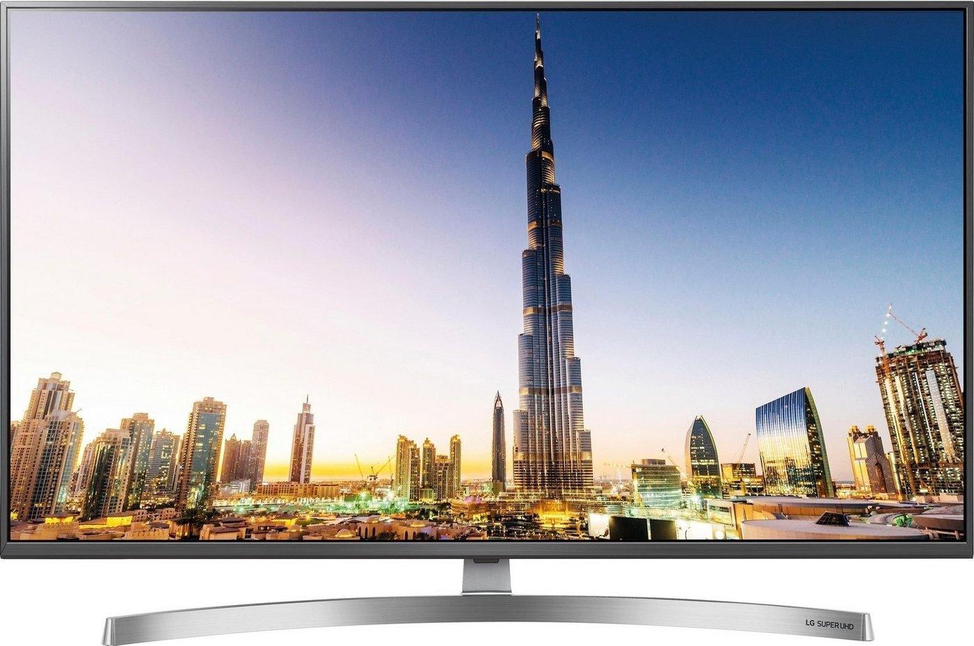 LG 49SK8100LLA 123 cm (49 Zoll) Smart-TV (Super UHD, Triple Tuner, 4K Cinema HDR, Dolby Vision, DLNA, WLAN) für 619,99€ (Amazon)