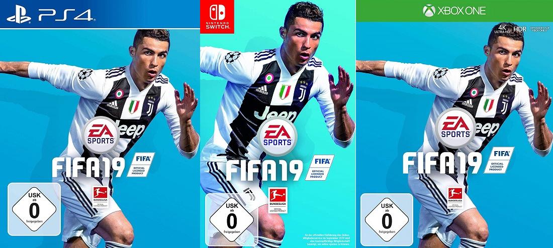 [sbdirect24] FIFA 19 - Standard Edition (USK) für Xbox One oder Switch