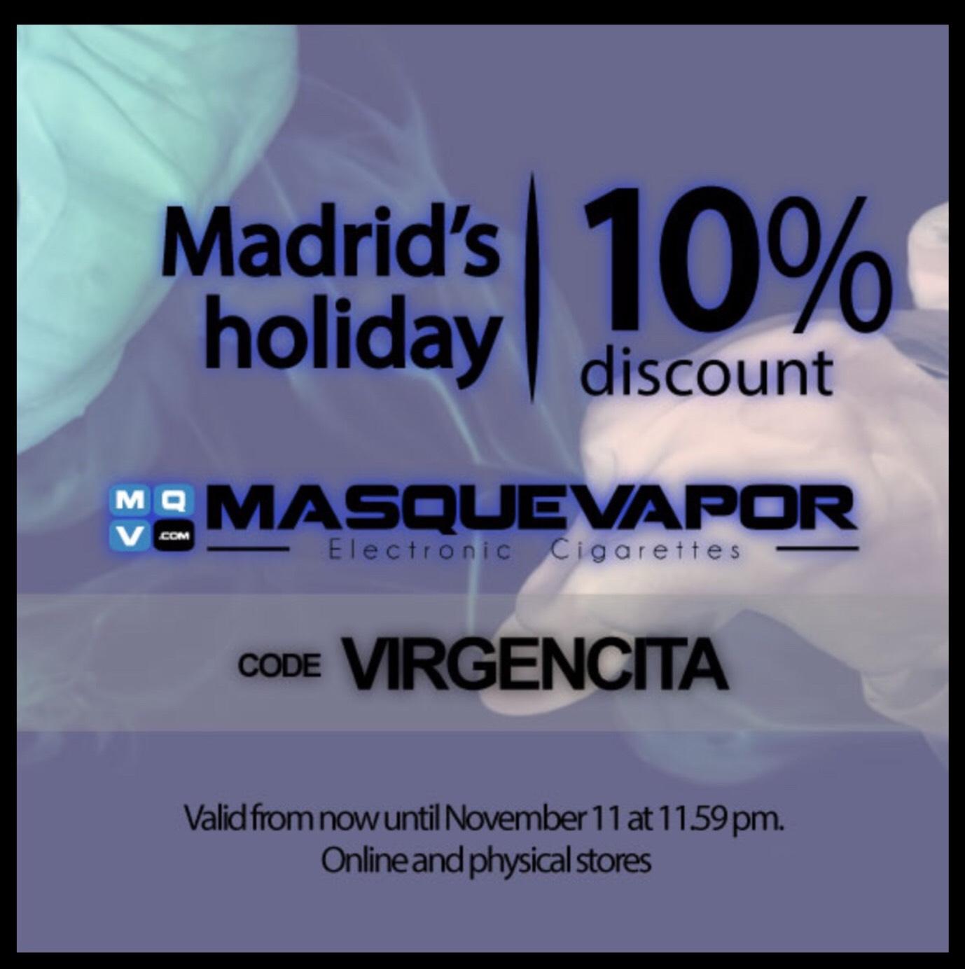 Masquevapor - 10% auf alles > E-Zigaretten und Zubehör