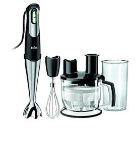 [amazon.es] Braun Stabmixer 4 tlg. Set MQ775 Patisserie - 750W schwarz one size