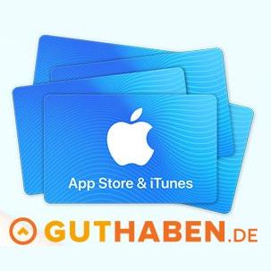 15% extra Guthaben bei App Store & iTunes [Guthaben.de]