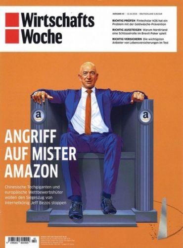 WirtschaftsWoche Abo - 1Jahr (52 Ausgaben Print) für 349 € mit 250 € Prämie in bar aufs Konto