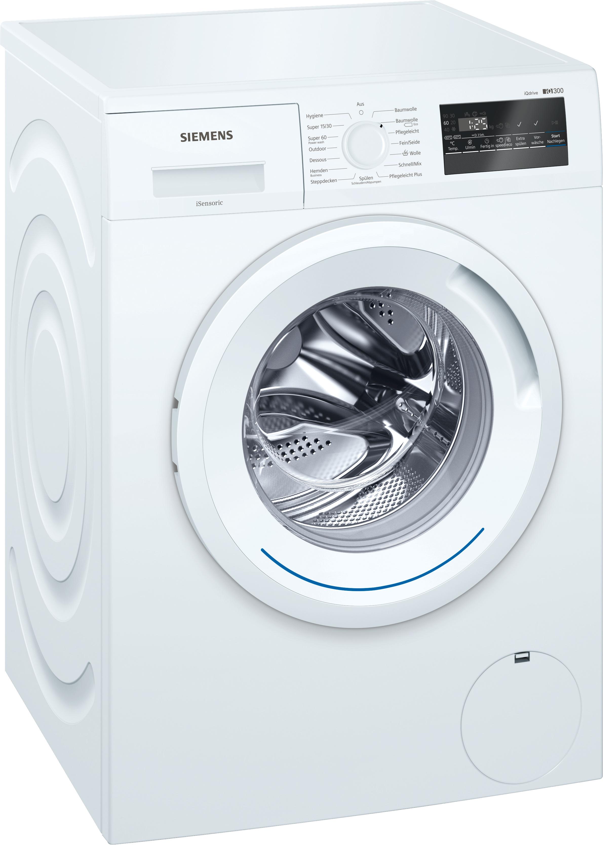 [Metro] Siemens Waschmaschine WM14N2M1 weiß 7kg A+++