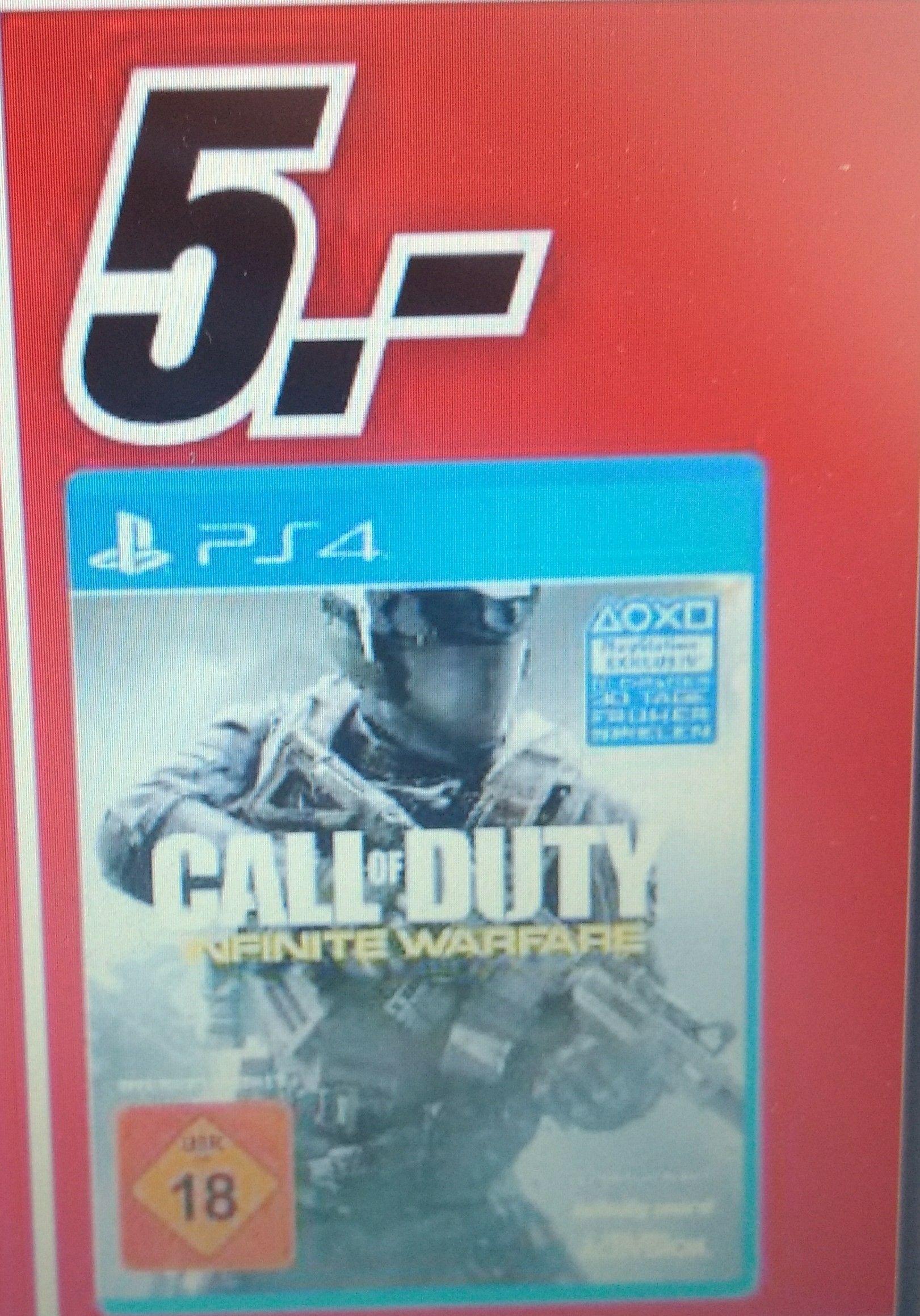Call of Duty: Infinite Warfare(PS4) (Lokal Mediamarkt Weiden)