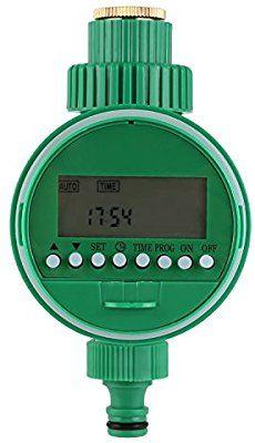 [Freebie]FIXKIT Elektronische Wasser Timer, Bewässerungsuhr, Zeitmesser mit LCD Display Digital Bewässerung Controller